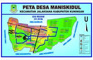 PETA DESA | Desa Manis Kidul, Kecamatan Jalaksana ...